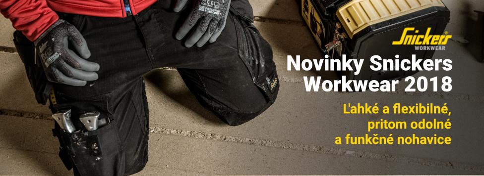 Novinky Snickers Workwear - kalhoty FW